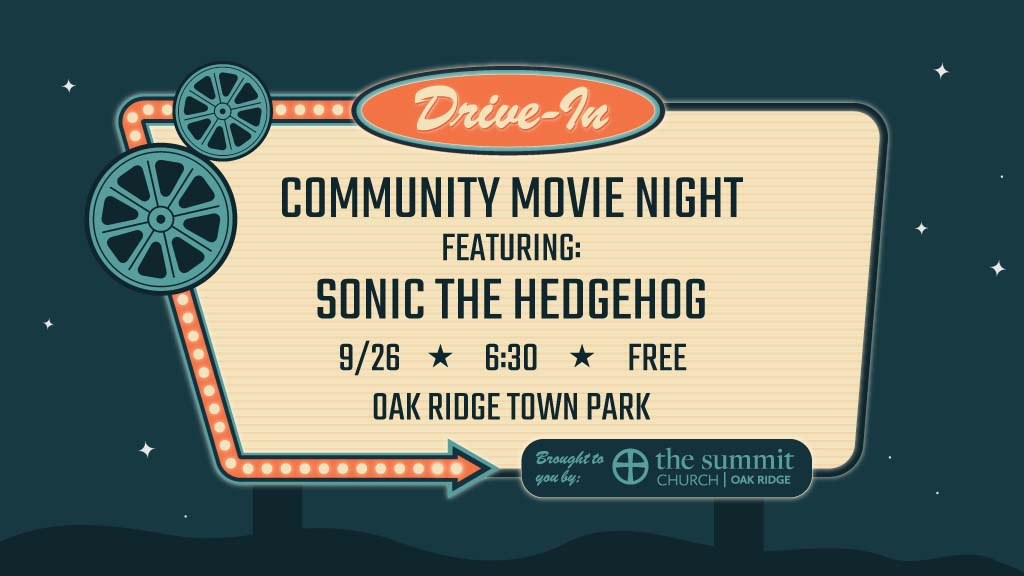 Community Movie Night Drive-In