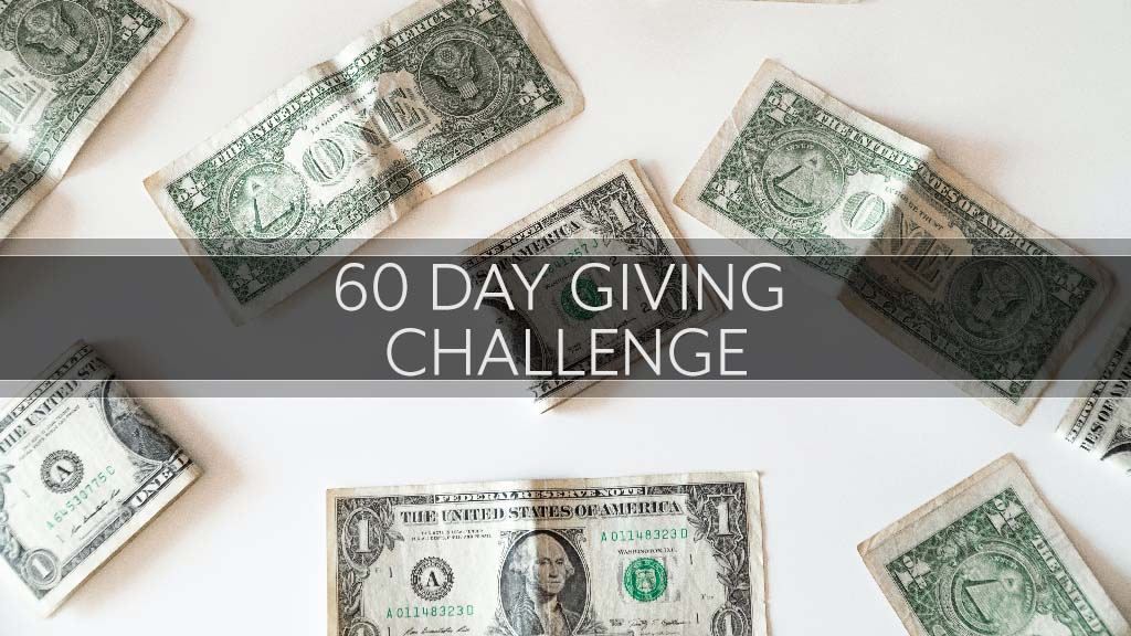 60 Day Giving Challenge