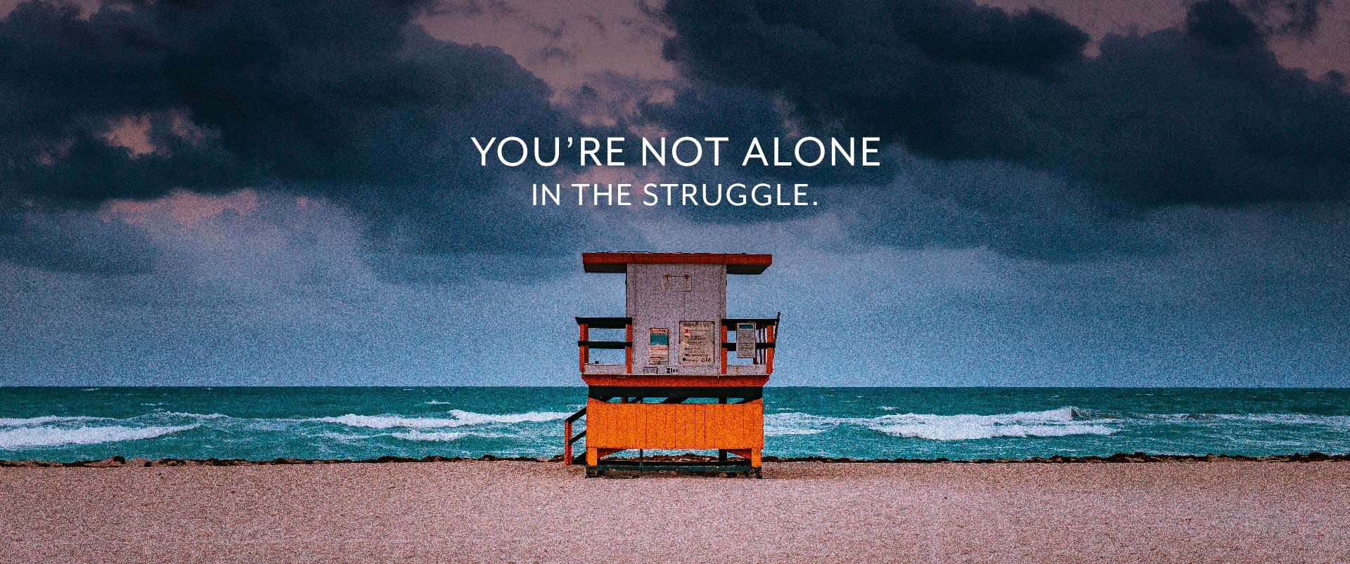 You're Not Alone In The Struggle
